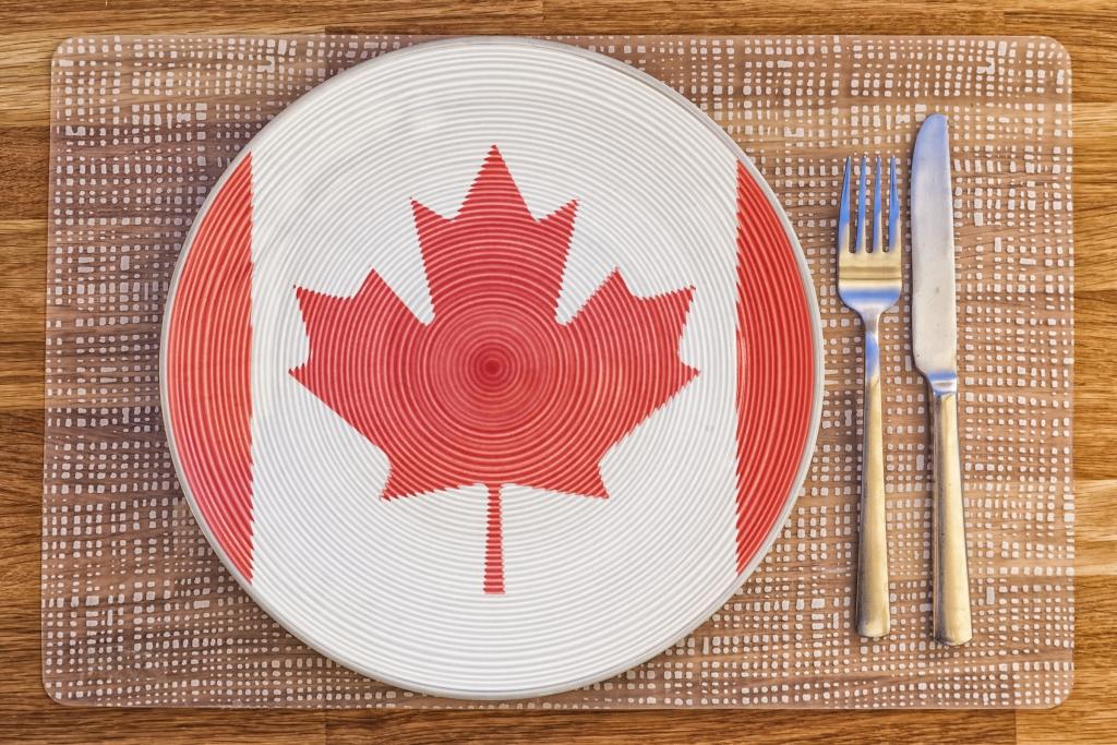 Canada Table Setting