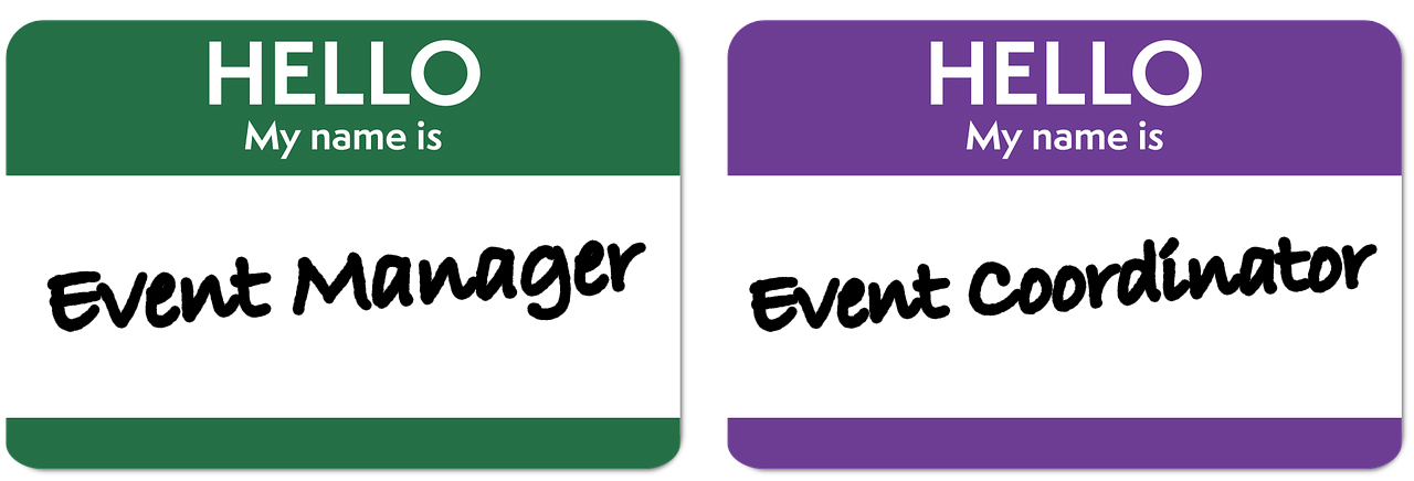 Event Manager Vs. Event Coordinator – What's in a Name?