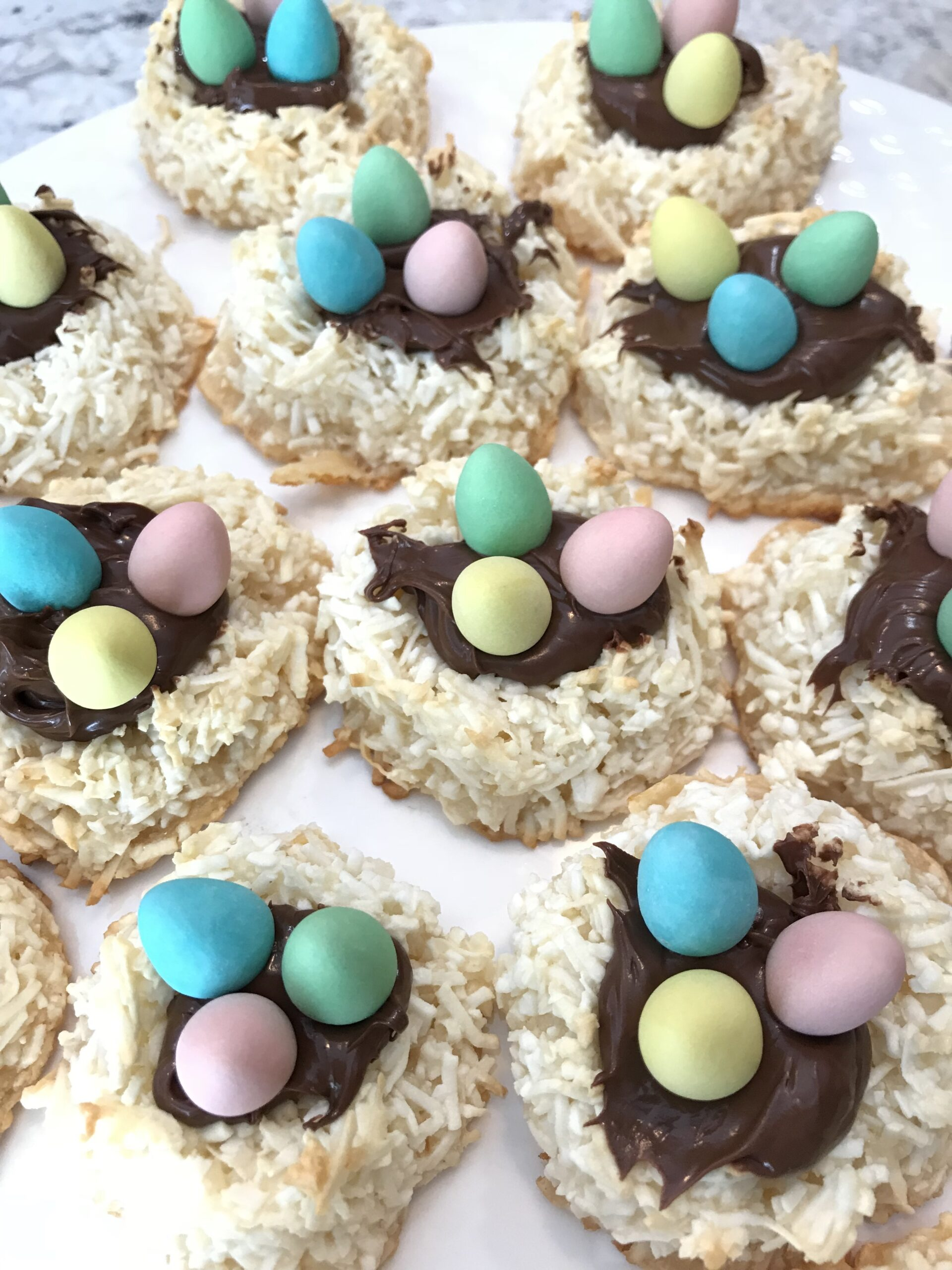 Coconut Macaroon Nest by Cooking with Auntie